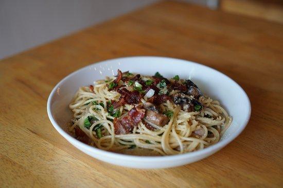 Let's Meat: Creamy Bacon Pasta