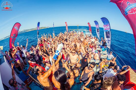 VIP-billett Oceanbeat Ibiza Boat Party