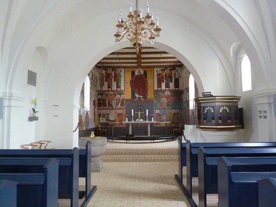 Altartavlan i Sindal bykirke i Sindal