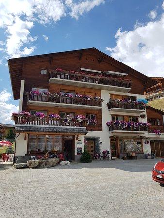 La Sage, Suíça: restaurant du Col de Torrent