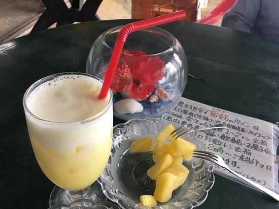 Ishigakijima Pineapple Club: パイナップルジュースとスナックパイン