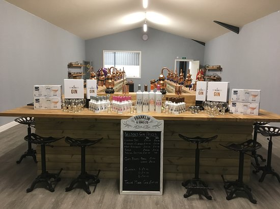 Nelsons Gin Distillery & Gin School: Classroom