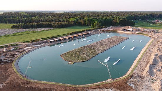 Palanga, Lithuania: 313 cable park