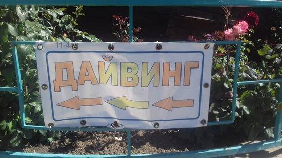 Chok-Tal, Kirgizië: Mimo areál možnost potápění