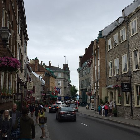魁北克老城照片