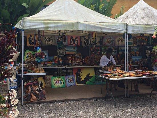 Bob Marley Experience: plenty goods for sale