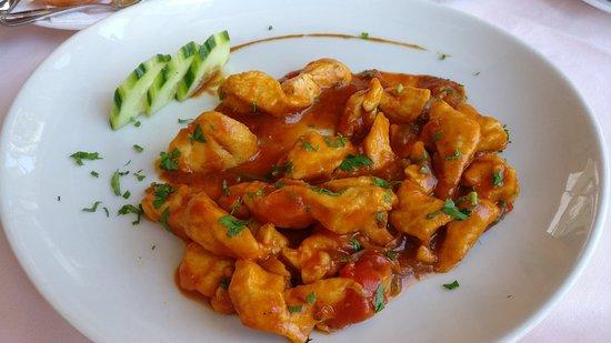 Restaurant Casa Pepe - Playa Arena Tenerife: Mexican style chicken