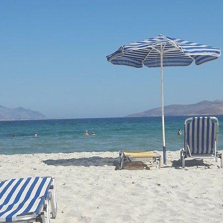 Summer Village of hippocrates: The beach just 5 mins walk