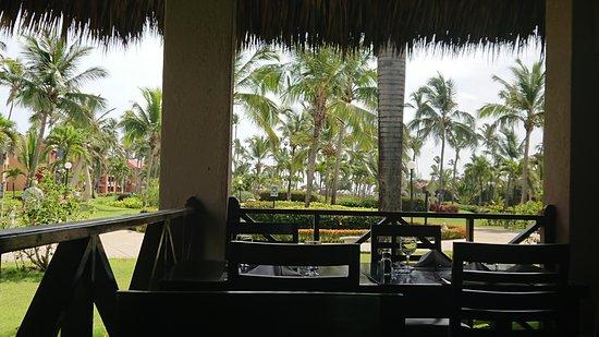 Mit Blick Auf Die Schone Gartenanlage Picture Of Punta Cana