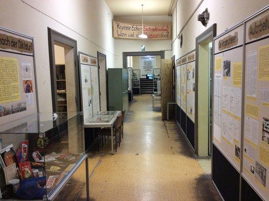Museum in der Runden Ecke: Stasi Museum inside old headquarters