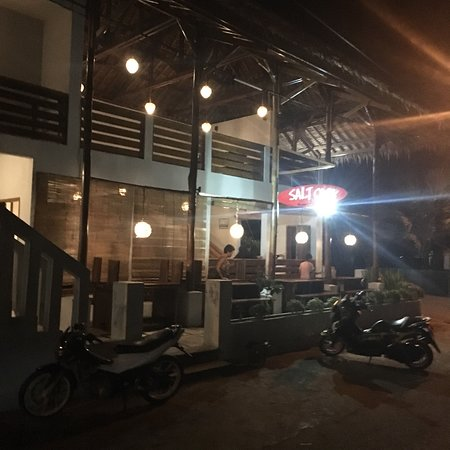 Batu Karas, Indonesia: Salt Cafe