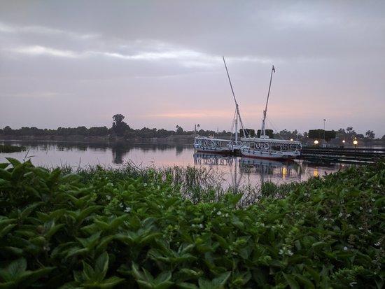 Jolie Ville Hotel & Spa - Kings Island, Luxor: Vue sur le Nil