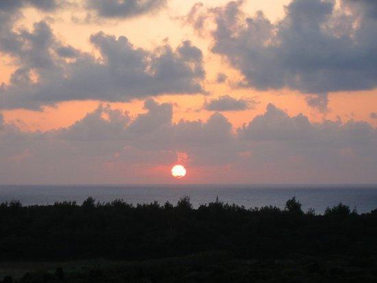 Tarama-son, Japonia: 夕焼けもきれい