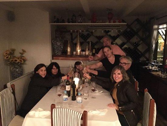 Lisboa Antiga Cafe: Comemorando junto com o Chef Antônio e a Luciana