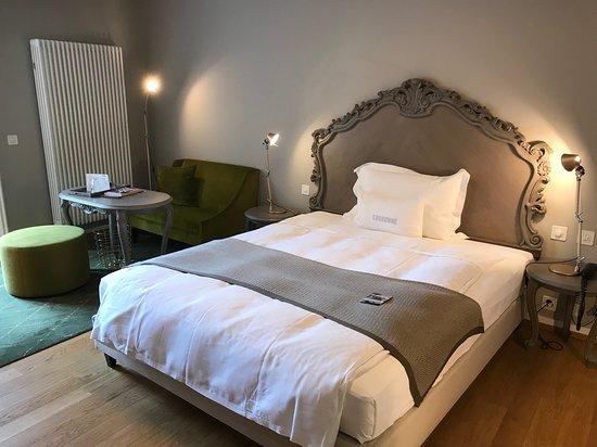 Schöne Schlafzimmer..... - Bild von La Couronne Restaurant ...