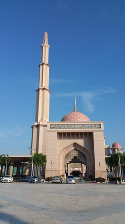 Putra-Moschee (Masjid Putra): mosquee