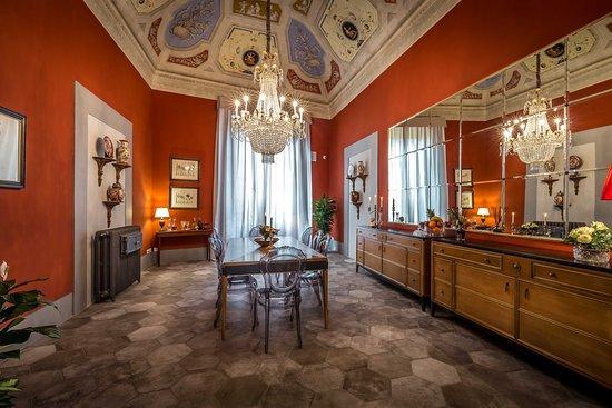 Palazzo Ridolfi - Residenza d'Epoca: Breakfast Hall