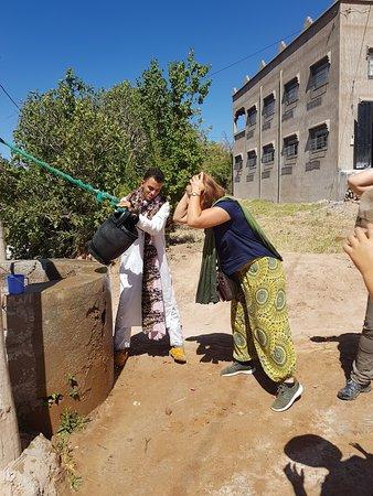 El Kelaa M'gouna, Morocco: Un refresquito del fondo de la tierra