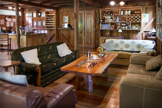 One of the common areas at Casa Divina Lodge.