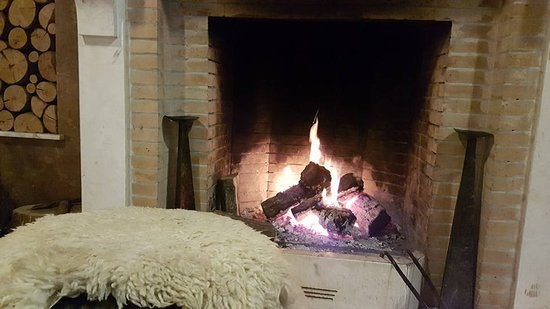 Warming fire in Pata Negra