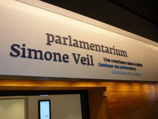 Parlamentarium Simon Veil