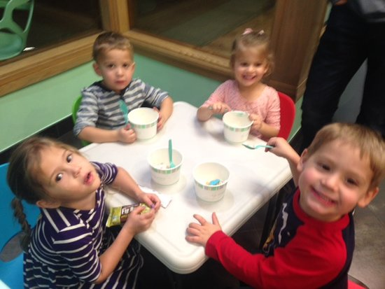 Yogurtini-RMCF-Scottsdale: We have kids corner too