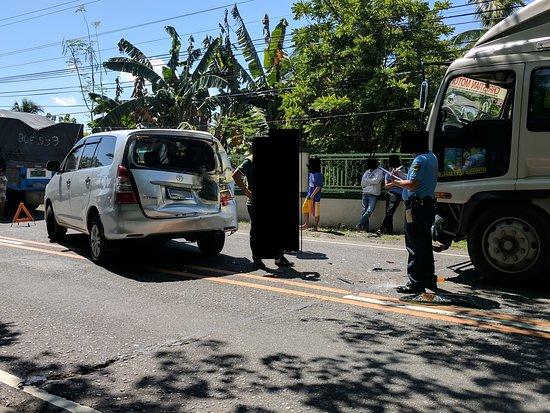 Tourist Driver Manila: accident