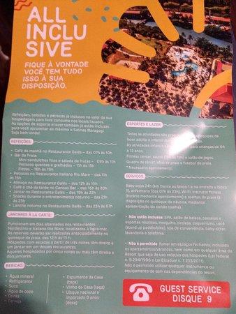 Salinas Maragogi All Inclusive Resort: Detalhes do que o hotel dispõe.