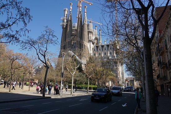 Placa de la Sagrada Familia: Площадь