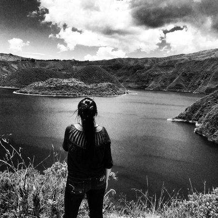 Laguna Cuicocha, Ecuador: Cuicocha lake