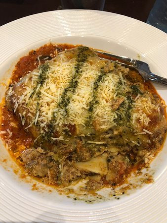 Piedras Negras, Mexico: Lasagna with pesto