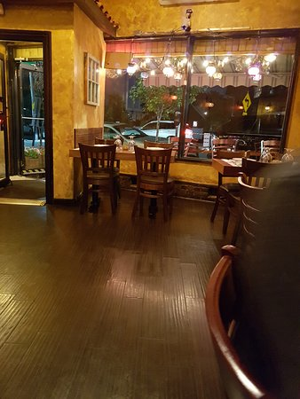 Cinar Turkish Restaurant 1: view from the sitting table