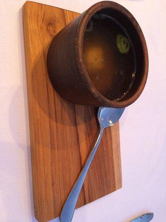 Restaurant Gastronomique Auberge la Fenière: bouillon legumes de l auberge