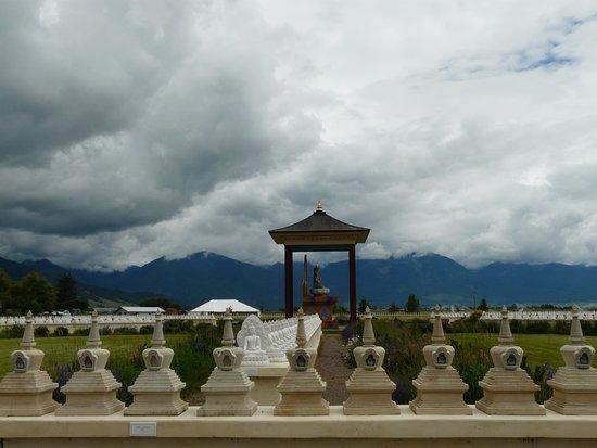 Garden of One Thousand Buddhas: 1000 buddhas
