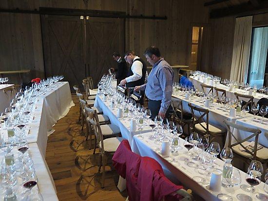 Blackberry Farm - Hospice du Rhône Event Wines in Bramble Hall