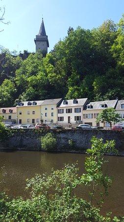 Altstadt Vianden.照片