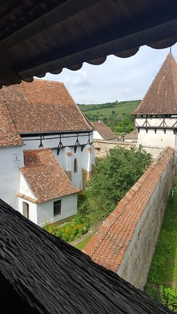 Cincsor, Romania: View from the tower