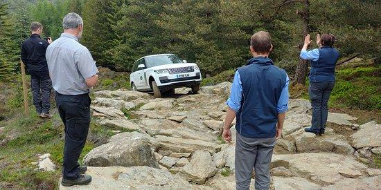 Land Rover Experience Scotland: Guided rock climb