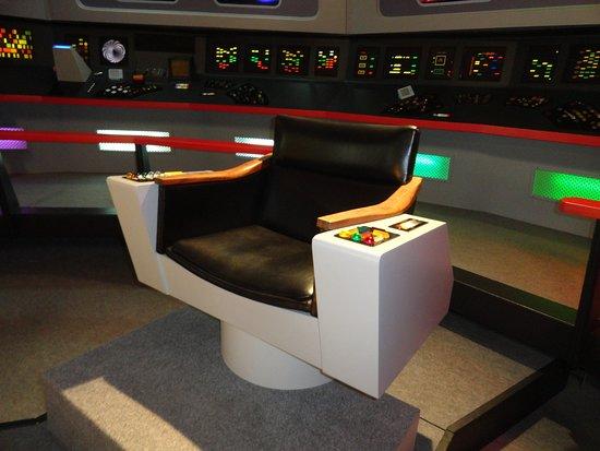 captain kirk's chair - Picture of Star Trek Original Series Set Tour,  Ticonderoga - Tripadvisor