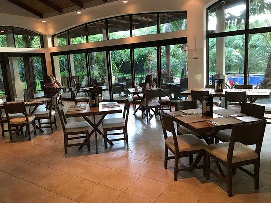 Santorini Greek Restaurant Dining Room