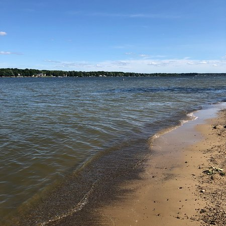 Lake Milton State park beach