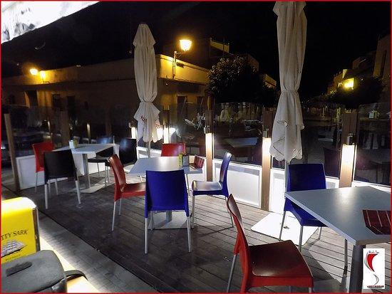 Villamartin, Spagna: Aspecto de la recien estrenada terraza de verano para nuestros clientes y amigos
