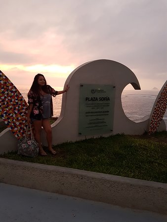 Punta Hermosa, Perù: Mágico atardecer...