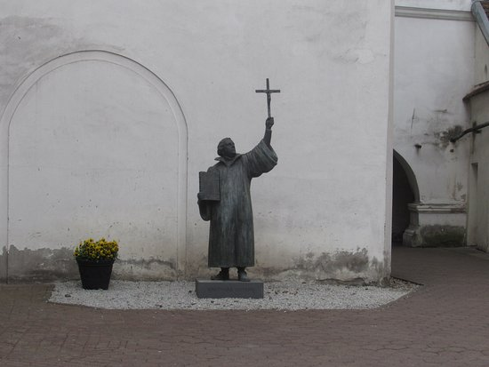 Evangelical Lutheran Church (Evangeliku Liuteronu Baznycia): martin lutero