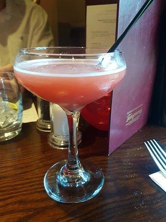 Newton Mearns, UK: Strawberry Daiquiri .. very nice
