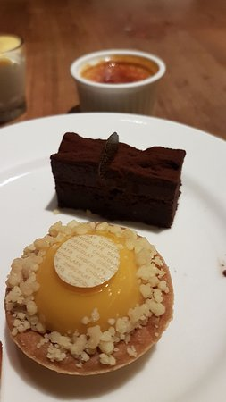 Nice spread and amazing desserts