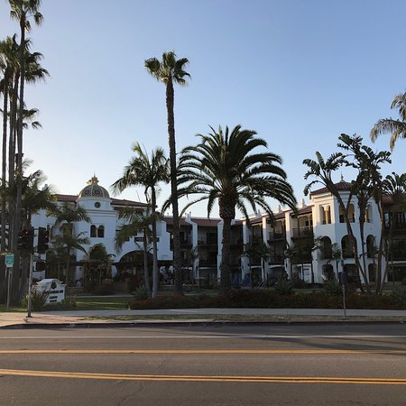 Lovely quaint hotel located away from the riff-raff across from the beach