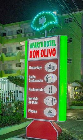 Hato Mayor del Rey, Dominican Republic: Rótulo externo