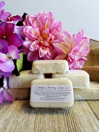 Hot Springs Village, AR: Lavender and Chamomile Tea Lotion Bar