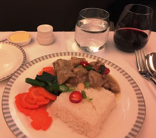 Singapore Airlines: Thai Chicken Curry